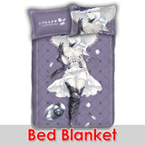 New Harbour Summer Princess - Kantai Collection Japanese Anime Bed Blanket or Duvet Cover with Pillow Covers ADP-CP160904