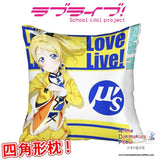 New Ayase Eli - Love Live Anime Dakimakura Square Pillow Cover GZFONG305 - Anime Dakimakura Pillow Shop | Fast, Free Shipping, Dakimakura Pillow & Cover shop, pillow For sale, Dakimakura Japan Store, Buy Custom Hugging Pillow Cover - 1