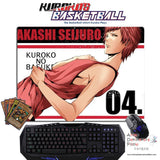 New Seijuro Akashi - Kuroko no Basket Anime Gaming Mouse Pad Deluxe Multipurpose Playmat GZFONG-P30 - Anime Dakimakura Pillow Shop | Fast, Free Shipping, Dakimakura Pillow & Cover shop, pillow For sale, Dakimakura Japan Store, Buy Custom Hugging Pillow Cover - 1
