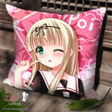 New Yuudachi - Kantai Collection Anime Dakimakura Square Pillow Cover SPC30 - Anime Dakimakura Pillow Shop | Fast, Free Shipping, Dakimakura Pillow & Cover shop, pillow For sale, Dakimakura Japan Store, Buy Custom Hugging Pillow Cover - 1