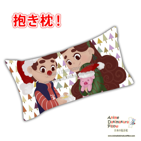 New Gravity Falls Anime Dakimakura Japanese Rectangle Pillow Cover Custom Designer BambyKim ADC455