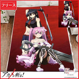 New Akame ga Kill Japanese Anime Fleece Flannel Bed Throws GZFONG318 - Anime Dakimakura Pillow Shop | Fast, Free Shipping, Dakimakura Pillow & Cover shop, pillow For sale, Dakimakura Japan Store, Buy Custom Hugging Pillow Cover - 1