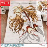 New Asuna - Sword Art Online Japanese Anime Fleece Flannel Bed Throws GZFONG319 - Anime Dakimakura Pillow Shop | Fast, Free Shipping, Dakimakura Pillow & Cover shop, pillow For sale, Dakimakura Japan Store, Buy Custom Hugging Pillow Cover - 1