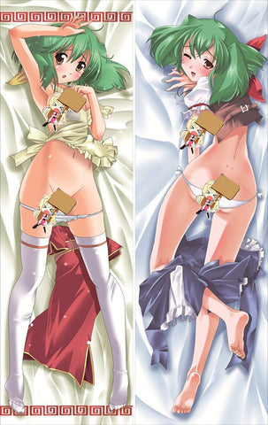New Macross Frontier Anime Dakimakura Japanese Pillow Cover MF3 - Anime Dakimakura Pillow Shop | Fast, Free Shipping, Dakimakura Pillow & Cover shop, pillow For sale, Dakimakura Japan Store, Buy Custom Hugging Pillow Cover - 1