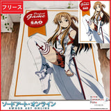 New Asuna - Sword Art Online Japanese Anime Fleece Flannel Bed Throws GZFONG322 - Anime Dakimakura Pillow Shop | Fast, Free Shipping, Dakimakura Pillow & Cover shop, pillow For sale, Dakimakura Japan Store, Buy Custom Hugging Pillow Cover - 1