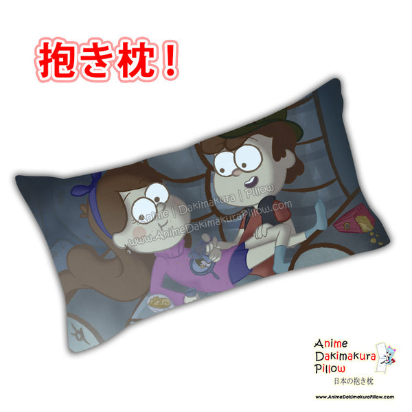 New Gravity Falls Anime Dakimakura Japanese Rectangle Pillow Cover Custom Designer BambyKim ADC457 - Anime Dakimakura Pillow Shop | Fast, Free Shipping, Dakimakura Pillow & Cover shop, pillow For sale, Dakimakura Japan Store, Buy Custom Hugging Pillow Cover - 1