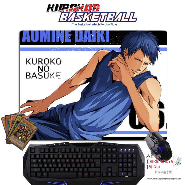 New Aomine Daiki - Kuroko no Basket Anime Gaming Mouse Pad Deluxe Multipurpose Playmat GZFONG-P32 - Anime Dakimakura Pillow Shop | Fast, Free Shipping, Dakimakura Pillow & Cover shop, pillow For sale, Dakimakura Japan Store, Buy Custom Hugging Pillow Cover - 1