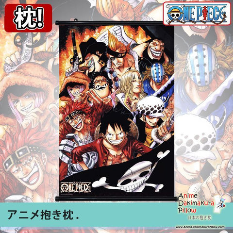 New One Piece Japanese Anime Art Wall Scroll Poster Limited Edition High Quality GZFONG033 - Anime Dakimakura Pillow Shop | Fast, Free Shipping, Dakimakura Pillow & Cover shop, pillow For sale, Dakimakura Japan Store, Buy Custom Hugging Pillow Cover - 1