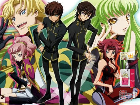 New Code Geass Japanese Anime Bed Blanket Cover or Duvet Cover Blanket 33 - Anime Dakimakura Pillow Shop | Fast, Free Shipping, Dakimakura Pillow & Cover shop, pillow For sale, Dakimakura Japan Store, Buy Custom Hugging Pillow Cover - 1