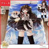 New Kongou - Kantai Collection Japanese Anime Fleece Flannel Bed Throws GZFONG342 - Anime Dakimakura Pillow Shop | Fast, Free Shipping, Dakimakura Pillow & Cover shop, pillow For sale, Dakimakura Japan Store, Buy Custom Hugging Pillow Cover - 1