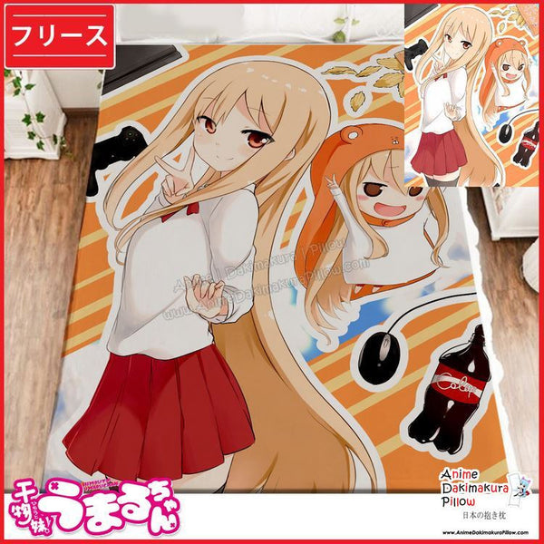 New Umaru Doma - Himouto Umaru-chan Japanese Anime Fleece Flannel Bed Throws GZFONG346 - Anime Dakimakura Pillow Shop | Fast, Free Shipping, Dakimakura Pillow & Cover shop, pillow For sale, Dakimakura Japan Store, Buy Custom Hugging Pillow Cover - 1