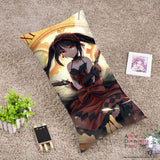 New Kurumi Tokisaki - Date a Live Anime Dakimakura Rectangle Pillow Cover RPC34 - Anime Dakimakura Pillow Shop | Fast, Free Shipping, Dakimakura Pillow & Cover shop, pillow For sale, Dakimakura Japan Store, Buy Custom Hugging Pillow Cover - 1