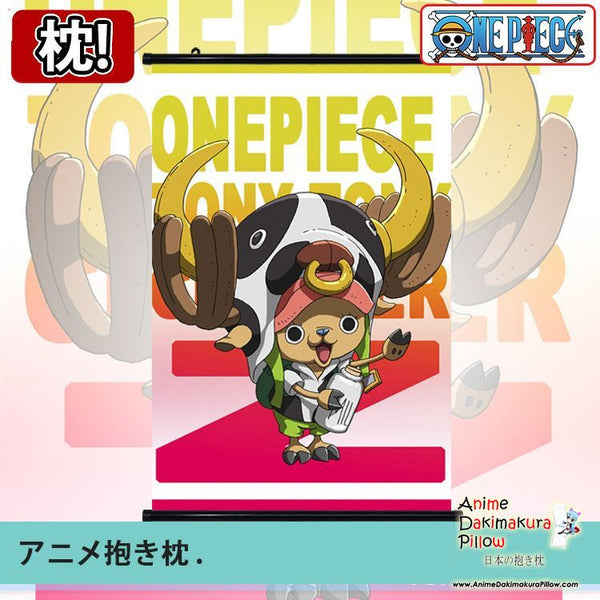 New One Piece Japanese Anime Art Wall Scroll Poster Limited Edition High Quality GZFONG035