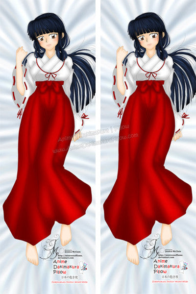 New Kikyo Inuyasha Anime Dakimakura Japanese Pillow Cover Custom Designer CreepyCutePrincess ADC103 - Anime Dakimakura Pillow Shop | Fast, Free Shipping, Dakimakura Pillow & Cover shop, pillow For sale, Dakimakura Japan Store, Buy Custom Hugging Pillow Cover - 1
