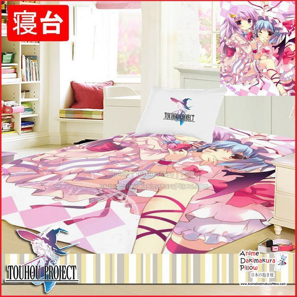 New Touhou Project Japanese Anime Bed Blanket or Duvet Cover GZFONG372