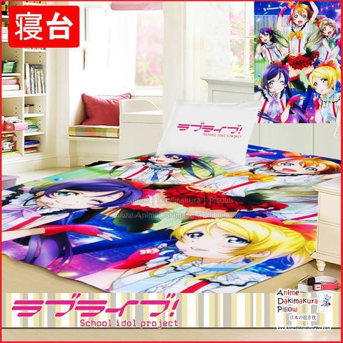 New Love Live School Idol Project Japanese Anime Bed Blanket or Duvet Cover GZFONG374 - Anime Dakimakura Pillow Shop | Fast, Free Shipping, Dakimakura Pillow & Cover shop, pillow For sale, Dakimakura Japan Store, Buy Custom Hugging Pillow Cover - 1