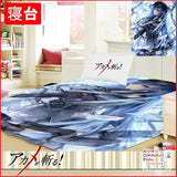 New Esdeath - Akame Ga Kill Japanese Anime Bed Blanket or Duvet Cover GZFONG380 - Anime Dakimakura Pillow Shop | Fast, Free Shipping, Dakimakura Pillow & Cover shop, pillow For sale, Dakimakura Japan Store, Buy Custom Hugging Pillow Cover - 1