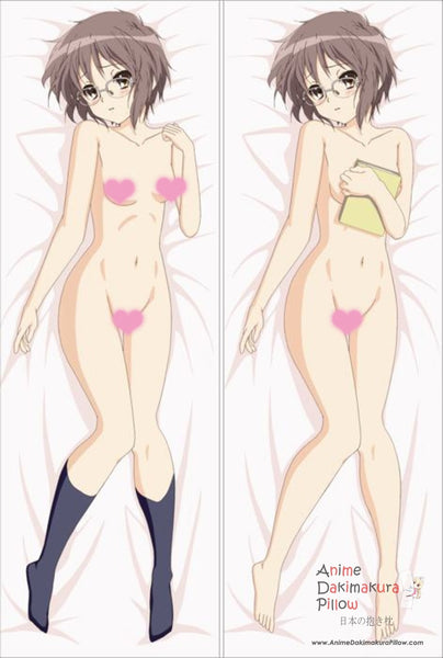 New  The Melancholy of Haruhi Suzumiya - Yuki Nagato Anime Dakimakura Japanese Pillow Cover ContestSeventyTwo 20