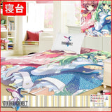 New Touhou Project Japanese Anime Bed Blanket or Duvet Cover GZFONG388 - Anime Dakimakura Pillow Shop | Fast, Free Shipping, Dakimakura Pillow & Cover shop, pillow For sale, Dakimakura Japan Store, Buy Custom Hugging Pillow Cover - 1