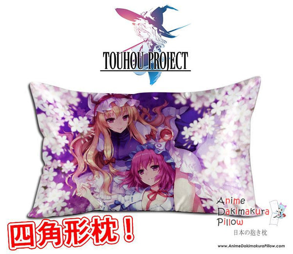 New Touhou Project Anime Waifu Dakimakura Rectangle 40x70cm Pillow Cover GZFONG-38 - Anime Dakimakura Pillow Shop | Fast, Free Shipping, Dakimakura Pillow & Cover shop, pillow For sale, Dakimakura Japan Store, Buy Custom Hugging Pillow Cover - 1