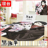 New Kurishitsuji Black Butler Japanese Anime Bed Blanket or Duvet Cover GZFONG391 - Anime Dakimakura Pillow Shop | Fast, Free Shipping, Dakimakura Pillow & Cover shop, pillow For sale, Dakimakura Japan Store, Buy Custom Hugging Pillow Cover - 1