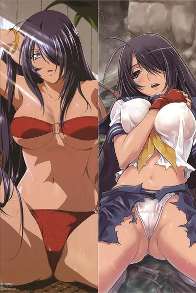 New Ikki Tousen Anime Dakimakura Japanese Pillow Cover IT3 - Anime Dakimakura Pillow Shop | Fast, Free Shipping, Dakimakura Pillow & Cover shop, pillow For sale, Dakimakura Japan Store, Buy Custom Hugging Pillow Cover - 1