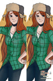 New Gravity Falls Anime Dakimakura Japanese Pillow Cover Custom Designer BambyKim ADC465 - Anime Dakimakura Pillow Shop | Fast, Free Shipping, Dakimakura Pillow & Cover shop, pillow For sale, Dakimakura Japan Store, Buy Custom Hugging Pillow Cover - 1