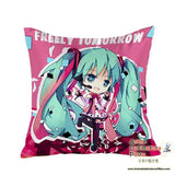 New Hatsune Miku - Vocaloid Anime Dakimakura Square Pillow Cover GZFONG39 - Anime Dakimakura Pillow Shop | Fast, Free Shipping, Dakimakura Pillow & Cover shop, pillow For sale, Dakimakura Japan Store, Buy Custom Hugging Pillow Cover - 1