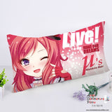 New Nishikino Maki - Love Live Anime Dakimakura Rectangle Pillow Cover RPC39 - Anime Dakimakura Pillow Shop | Fast, Free Shipping, Dakimakura Pillow & Cover shop, pillow For sale, Dakimakura Japan Store, Buy Custom Hugging Pillow Cover - 1