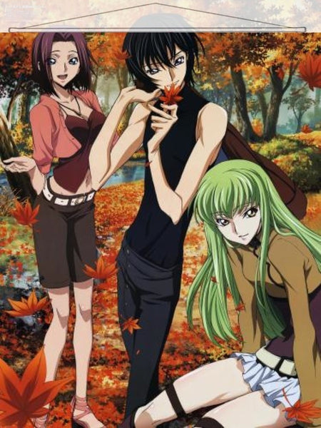 Code Geass Japanese Anime Wall Scroll Poster and Banner 3 - Anime Dakimakura Pillow Shop | Fast, Free Shipping, Dakimakura Pillow & Cover shop, pillow For sale, Dakimakura Japan Store, Buy Custom Hugging Pillow Cover - 1