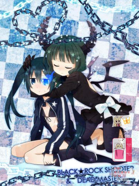 New Black Rock Shooter Japanese Anime Bed Blanket Cover or Duvet Cover Blanket 3 - Anime Dakimakura Pillow Shop | Fast, Free Shipping, Dakimakura Pillow & Cover shop, pillow For sale, Dakimakura Japan Store, Buy Custom Hugging Pillow Cover - 1