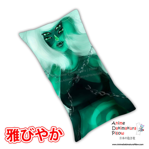 New Malachite Anime Dakimakura Japanese Rectangle Pillow Cover Custom Designer Jesuka-Arts ADC493
