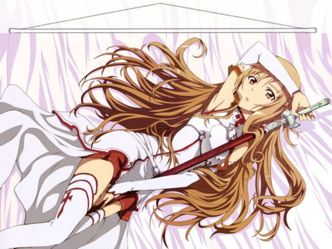 Sword Art Online Japanese Anime Wall Scroll Poster and Banner 3 - Anime Dakimakura Pillow Shop | Fast, Free Shipping, Dakimakura Pillow & Cover shop, pillow For sale, Dakimakura Japan Store, Buy Custom Hugging Pillow Cover - 1