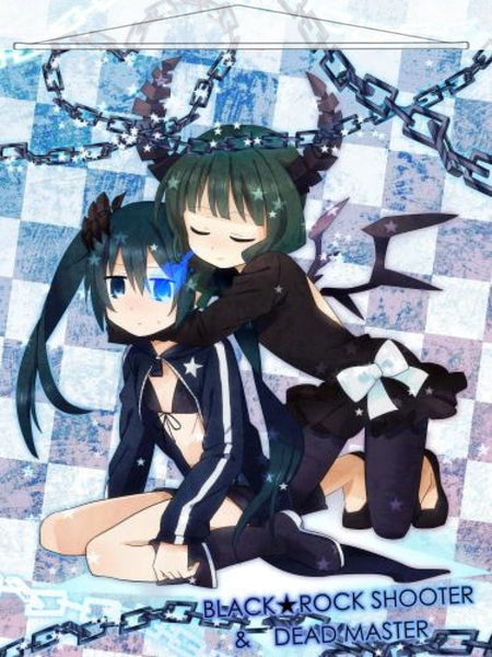 Black Rock Shooter Japanese Anime Wall Scroll Poster and Banner 3 - Anime Dakimakura Pillow Shop Dakimakura Pillow Cover shop Buy Custom Hugging Pillow Cover