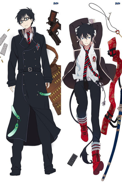 New  Male Blue Exorcist Anime Dakimakura Japanese Pillow Cover MALE40 - Anime Dakimakura Pillow Shop | Fast, Free Shipping, Dakimakura Pillow & Cover shop, pillow For sale, Dakimakura Japan Store, Buy Custom Hugging Pillow Cover - 1