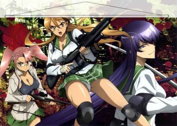 Highschool of the Dead Japanese Anime Wall Scroll Poster and Banner 3