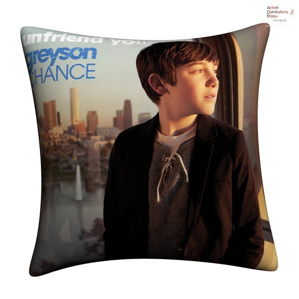 New Greyson Chance Throw Pillow Case cushion pillowcase cover3