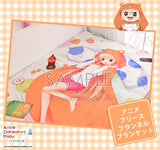 New Umaru Doma - Himouto Umaru-chan Japanese Anime Fleece Flannel Bed Throws GZFONG346 - Anime Dakimakura Pillow Shop | Fast, Free Shipping, Dakimakura Pillow & Cover shop, pillow For sale, Dakimakura Japan Store, Buy Custom Hugging Pillow Cover - 3