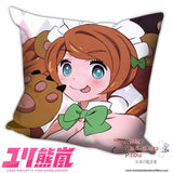 New Love Bullet Yuri Kuma Arashi Anime Dakimakura Square Pillow Cover H003 - Anime Dakimakura Pillow Shop | Fast, Free Shipping, Dakimakura Pillow & Cover shop, pillow For sale, Dakimakura Japan Store, Buy Custom Hugging Pillow Cover - 1