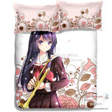 New Reina Kousaka - Sound Euphonium Japanese Anime Bed Blanket or Duvet Cover with Pillow Covers ADP-CP150022 - Anime Dakimakura Pillow Shop | Fast, Free Shipping, Dakimakura Pillow & Cover shop, pillow For sale, Dakimakura Japan Store, Buy Custom Hugging Pillow Cover - 5