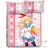 New Chitoge - Nisekoi Japanese Anime Bed Blanket or Duvet Cover with Pillow Covers ADP-CP150016 - Anime Dakimakura Pillow Shop | Fast, Free Shipping, Dakimakura Pillow & Cover shop, pillow For sale, Dakimakura Japan Store, Buy Custom Hugging Pillow Cover - 5