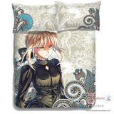 New Saber - Fate Stay Night Japanese Anime Bed Blanket or Duvet Cover with Pillow Covers ADP-CP150007 - Anime Dakimakura Pillow Shop | Fast, Free Shipping, Dakimakura Pillow & Cover shop, pillow For sale, Dakimakura Japan Store, Buy Custom Hugging Pillow Cover - 6