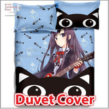 New Yukino Yukinoshita - My Teen Romantic Comedy SNAFU Japanese Anime Bed Blanket or Duvet Cover with Pillow Covers ADP-CP150014 - Anime Dakimakura Pillow Shop | Fast, Free Shipping, Dakimakura Pillow & Cover shop, pillow For sale, Dakimakura Japan Store, Buy Custom Hugging Pillow Cover - 3