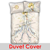 New Saber Nero Claudius - Fate Stay Night Japanese Anime Bed Blanket or Duvet Cover with Pillow Covers ADP-CP160905b
