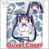 New Hestia - DanMachi Japanese Anime Bed Blanket or Duvet Cover with Pillow Covers ADP-CP150002 - Anime Dakimakura Pillow Shop | Fast, Free Shipping, Dakimakura Pillow & Cover shop, pillow For sale, Dakimakura Japan Store, Buy Custom Hugging Pillow Cover - 3