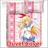 New Chitoge - Nisekoi Japanese Anime Bed Blanket or Duvet Cover with Pillow Covers ADP-CP150016 - Anime Dakimakura Pillow Shop | Fast, Free Shipping, Dakimakura Pillow & Cover shop, pillow For sale, Dakimakura Japan Store, Buy Custom Hugging Pillow Cover - 3