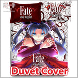 New Rin Tohsaka - Fate Stay Night Japanese Anime Bed Blanket or Duvet Cover with Pillow Covers ADP-CP150006 - Anime Dakimakura Pillow Shop | Fast, Free Shipping, Dakimakura Pillow & Cover shop, pillow For sale, Dakimakura Japan Store, Buy Custom Hugging Pillow Cover - 3