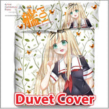 New Yuudachi Poi - Kantai Collection Japanese Anime Bed Blanket or Duvet Cover with Pillow Covers ADP-CP150009 - Anime Dakimakura Pillow Shop | Fast, Free Shipping, Dakimakura Pillow & Cover shop, pillow For sale, Dakimakura Japan Store, Buy Custom Hugging Pillow Cover - 3