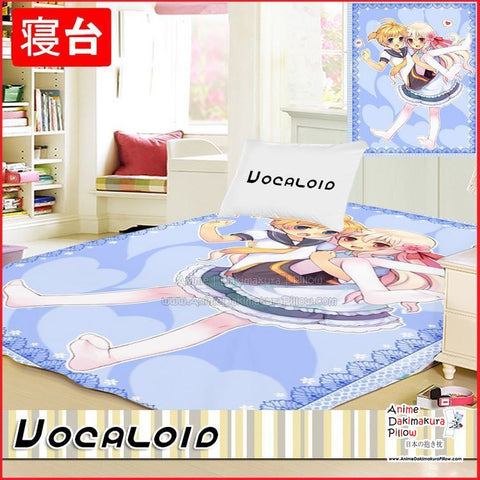 New Vocaloid Japanese Anime Bed Blanket or Duvet Cover GZFONG403 - Anime Dakimakura Pillow Shop | Fast, Free Shipping, Dakimakura Pillow & Cover shop, pillow For sale, Dakimakura Japan Store, Buy Custom Hugging Pillow Cover - 1