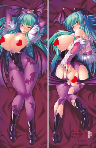 New  Darkstalkers - Morrigan Aensland Anime Dakimakura Japanese Pillow Cover H946 - Anime Dakimakura Pillow Shop | Fast, Free Shipping, Dakimakura Pillow & Cover shop, pillow For sale, Dakimakura Japan Store, Buy Custom Hugging Pillow Cover - 1